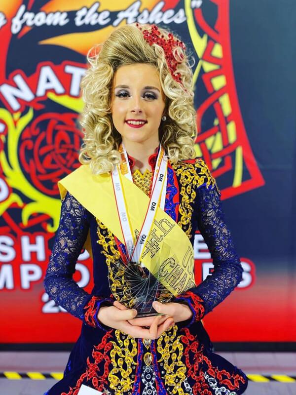 Champion Irish Dancer